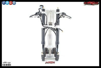 2012 Yamaha YZF-R6 YZF R6 OEM Complete Front End Suspension Forks Calipers Tree
