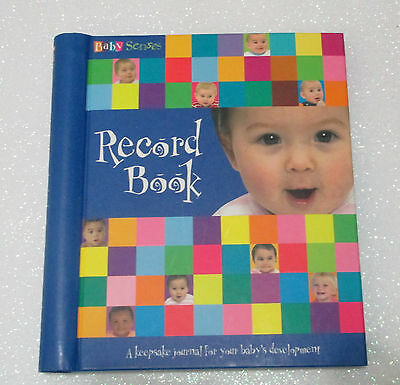 BABY SENSES - RECORD BOOK - Baby Diary/Keepsake Journal - Unisex