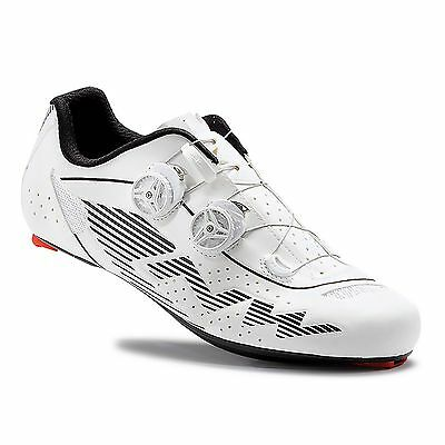 Northwave Evolution Plus Road Cycling / Cycle Bike Shoes - Reflective White
