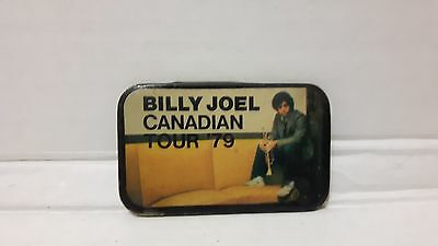 Vintage Billy Joel Pin Pinback Badge Canadian Tour 1979