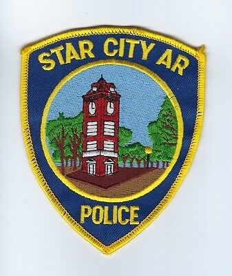 Star City (Lincoln County) AR Arkansas Police Dept. patch - NEW!