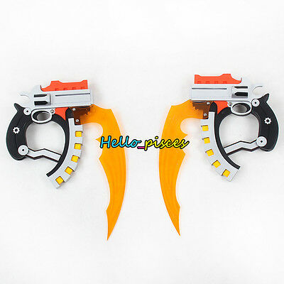 Exclusive Made .Hack Xth Form Haseo Blade Twin Blade Weapon PVC Cosplay Prop