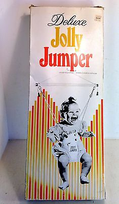 Vintage Deluxe Jolly Jumper Scientific Baby Exerciser in Box, Canada (4625)