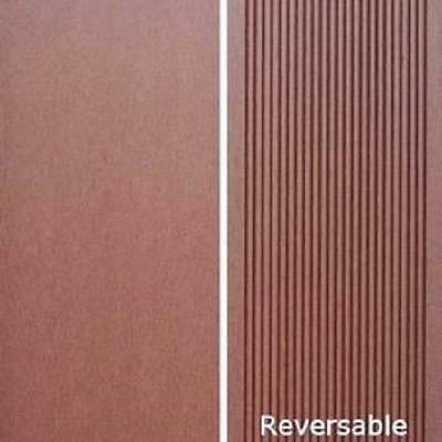 Composite Decking Cocoa, Modwood, Ekodeck, Eco Decking. Free Metro Delivery