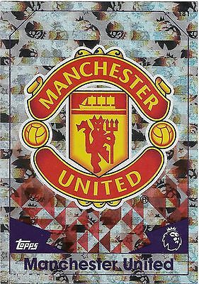 2016 / 2017 EPL Match Attax Base Card (181) MANCHESTER UNITED Logo