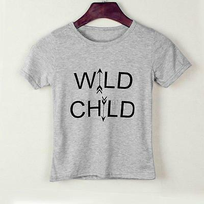Toddler Kid Boy Girl Short Sleeve Tops T-Shirt Casual Summer Baby Blouse Clothes