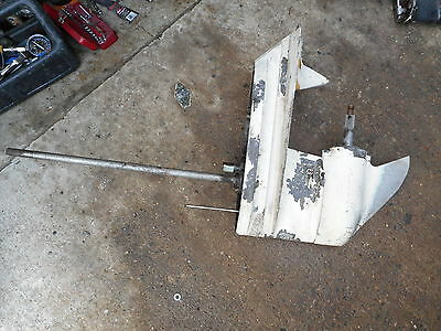 """Chrysler Outboard Part Gearbox 70-130 Hp 20"""" Shaft With Prop"""