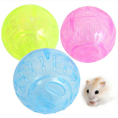 Pet Rodent Mice Jogging Hamster Gerbil Rat Play Toy Plastic Exercise Small Ball