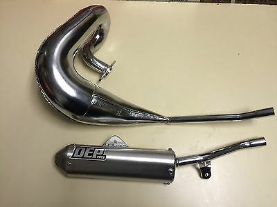 Yamaha Dt125R Dtr125 1989-2003 New Dep Pipes Complete Exhaust System Silencer