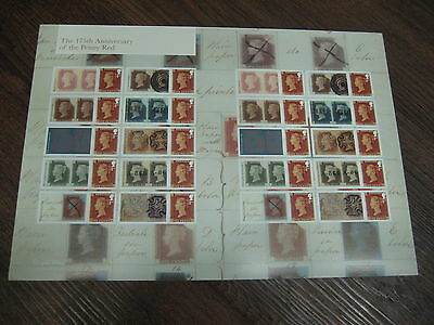 LS99 175th ANNIVERSARY PENNY RED  2016 GENERIC SMILERS FULL  SHEET *