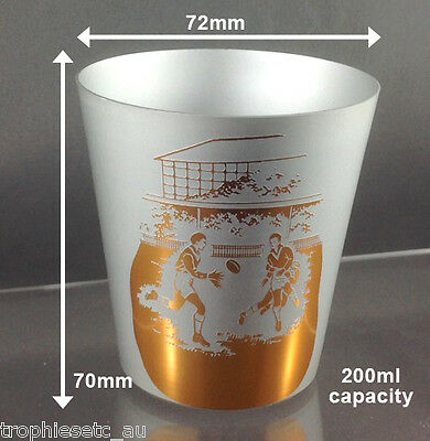 Set of 10 Trophy Tumblers RUGBY