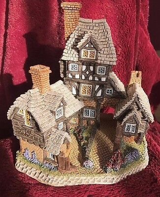 David Winter Cottage The Hop Pickers 1997 The Pubs And Taverns Mib + Cert