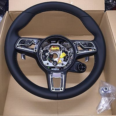GENUINE Porsche Leather GT Steering Wheel With Multi Function Facility