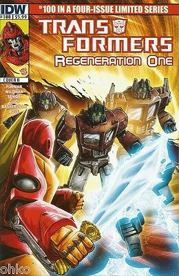 Idw - Transformers Regeneration One #100 - Cover A - Brand New - Optimus Prime