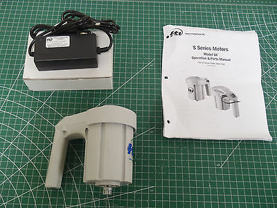FINISH THOMPSON S6 Cordless Drum Pump Motor and a 12V Charger !11A! RegA