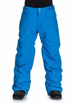 Quiksilver 'State' Insulated Ski/ Snowboard Pants Size XL Blue 40% Off RRP