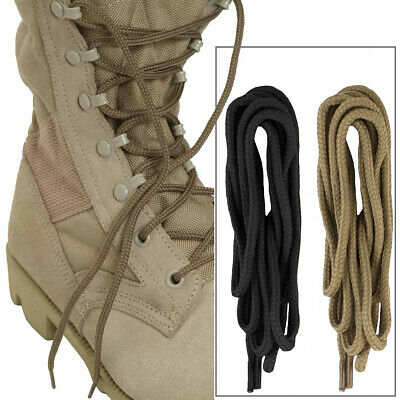 Military Army Combat Tactical Hiking Walking Work Boot Shoe Laces - Black Desert