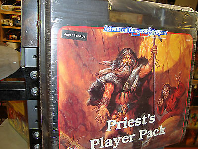 New! Rare Priest's Player Pack Sealed Advanced Dungeons and Dragons 2.0