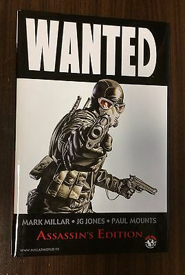 WANTED -- Assassin's Edition Hardcover -- Mark Millar -- OOP HC