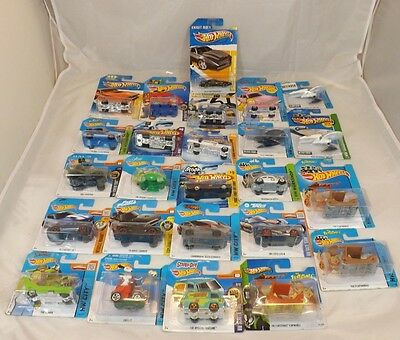 Hot wheels tv film 25 x HW screen time die cast car collection job lot rare