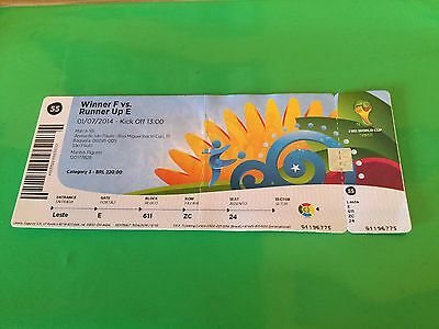 Ticket Argentina- Switzerland World Cup Brazil 2014 Match N. 55
