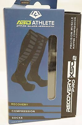 Premium Compression Socks For Recovery by ABD ATHLETE 15-20 mmHg - Small, S