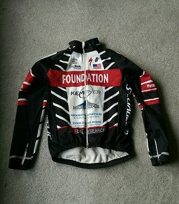 hincapie cycling winter jacket foundation used