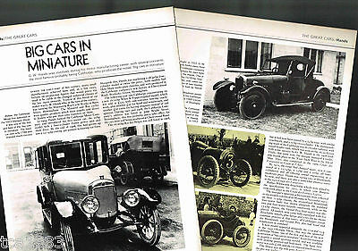 G.W.HANDS (UK) Cars Article / Photos / Pictures: CALTHORPE, British