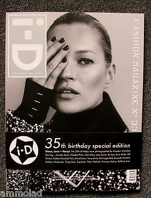 Rare i-D Magazine 35th Birthday Special Limited Edition Kate Moss Cover 2015 iD