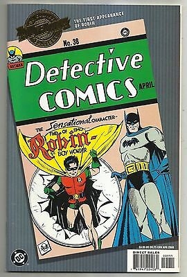Milliennium Editon of Detective #38  Robin Batman DC Comics April 2000 #cb1225