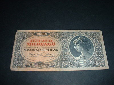 Hungary Ww2   Banknote 1946 1000 Pengo  1 Invoice Covers All