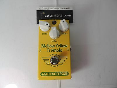 Mad Professor Mellow Yellow Tremolo Effects Pedal Free Usa Shipping