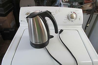 Black and Decker Electric Coffee tea Kettle With Removable Pot from Base