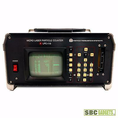 [Vintage - Working] P.M.S. Micro Laser Particle Counter (Model: LPC-110)
