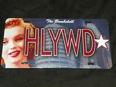 New The Bombshell HLYWD Marilyn Monroe Hollywood License Plate