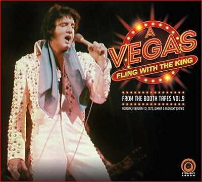 Elvis Presley - a vegas fling with the king - very rare mint new 2 cd