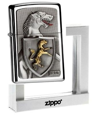 Zippo Lighter Limited Edition HERAL WALO PANTHER Ltd Heraldry ZIPPOS CASE