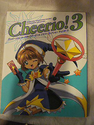 Cardcaptor Sakura Cheerio! 3 Art Book/Illustration Collection