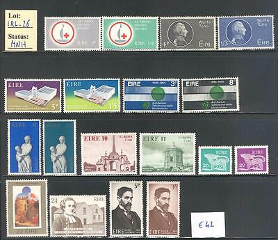 IRL_26 - IRELAND. Valuable collection of 1960s sets.MNH