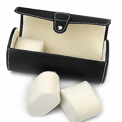 Autoark AW-006 Leatherette Roll Traveler's Watch Storage Organizer