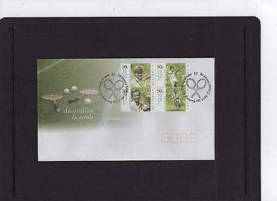 2003 Australian Legends First Day Cover Excellent as new