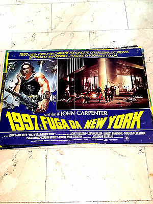 Fotobusta Film 1997 Fuga Da New York John Carpenter Medusa