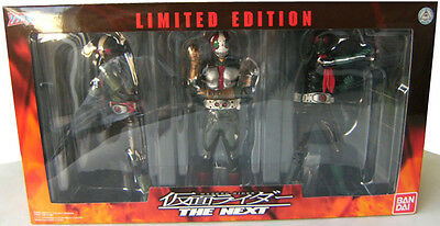Bandai kamen rider the next limited edition figure set