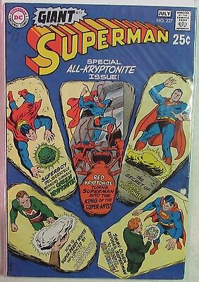 DC Comics - Superman Issue #227 - Silver Age -1960s - Special Giant Size Issue