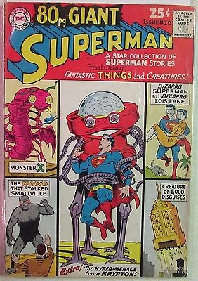 DC Comics - 80-Page Giant Issue #6 - Silver Age -1960s - Superman