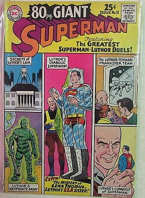DC Comics - 80-Page Giant Issue #11 - Silver Age -1960s - Superman
