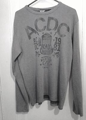 2012 AC/DC Long Sleeve Shirt Pre-owned
