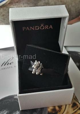 PANDORA | GENUINE Sterling Silver Scottie Dog Charm / Bead: 791105
