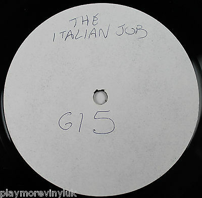 "G15  The Italian Job 12"" white label/promo UK 2001 Squeaky SQUEAK1"