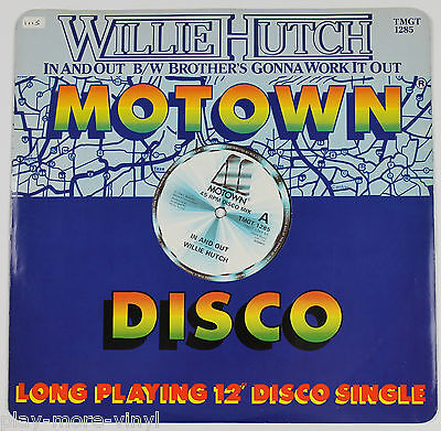 "WILLIE HUTCH In And Out / Brother's Gonna Work It Out 12"" vinyl UK 1982 Motown"